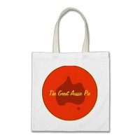 Custom Aussie Pie Bakery Business Tote Bag