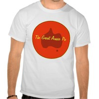 Custom Aussie Pie Bakery Business T-Shirt