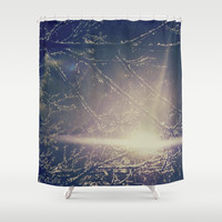 Colorblind Shower Curtain by Yoshigirl