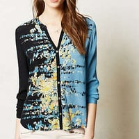 Splatter Sky Buttondown
