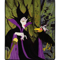 Disney Villains Maleficent Comfy Throw