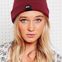 BDG Plain Beanie Hat in Burgundy - Urban Outfitters