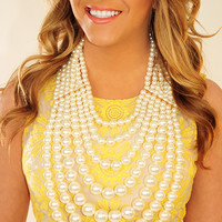 Beautiful Way Necklace: Pearl | Hope's