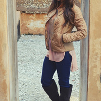 Warm And Beautiful Jacket: Brown | Hope's