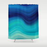 SEA BEAUTY 2 Shower Curtain by Catspaws