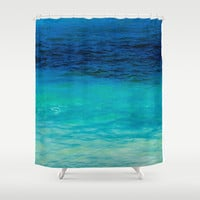 SEA BEAUTY Shower Curtain by Catspaws