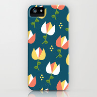 Floral Pattern 3 iPhone & iPod Case by mollykd