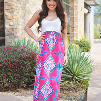 Sweeter Than Fiction Maxi - Pink