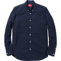 Supreme: Oxford Shirt - Navy