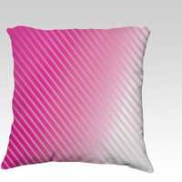 Blushing Streaks by Texnotropio (18x18 pillow)