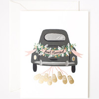 Rifle Paper Co. - Just Married Getaway Card