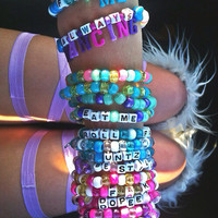 Set of 15 Kandi Bracelets