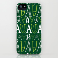 Alphabet pattern 3 iPhone & iPod Case by mollykd