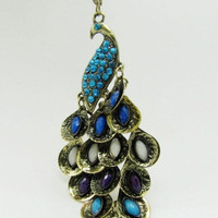 ancient vintage style peacock pendant women or by braceletcool