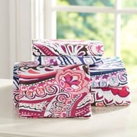 Vintage Paisley Sheet Set