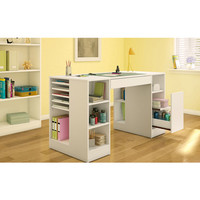 Walmart: South Shore Crea Craft Table, Pure White