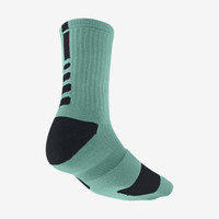 Nike Elite Crew Basketball Socks Medium/1 Pair - Diffused Jade