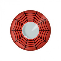 EDIT Color Contact Lenses - Red Web