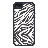 Zebra Stripe Print Tough Xtreme iPhone 5 Case