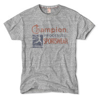 Grey Heather Champion Sports T-Shirt