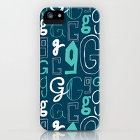 Alphabet pattern 2 iPhone & iPod Case by mollykd