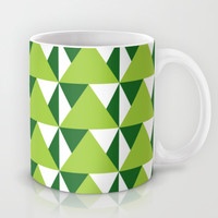 Geometric Pattern 3-Green Mug by mollykd