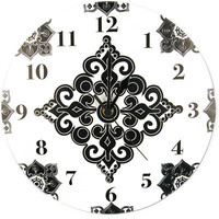 Trend Lab Versailles Wall Clock - Black/White | Meijer.com