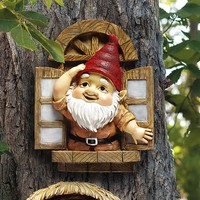 Exchange Online Store [H118] - Product: Window Gnome Tree Sculpture