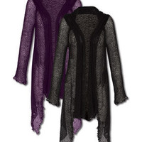 NEW! Nights Shade Woven Duster: Soul-Flower Online Store