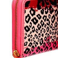 Paul's Boutique Neon Gradient Leopard Lizzie Purse