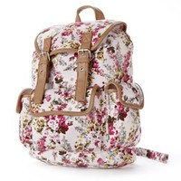 Candie's® Peyton Floral Backpack