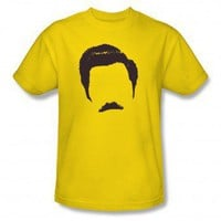 Ron Swanson T-shirt | Parks and Recreation Shirts, Hoodies & Accessories | NBC Store