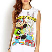 Throwback Looney Tunes Muscle Tee