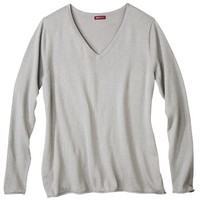 Merona® Women's Plus-Size Cashmere Blend V-Neck Pullover Sweater - Assorted Colors