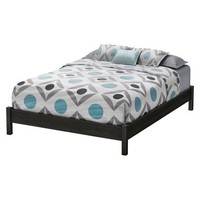 Timeless Platform Bed - Gray Oak (Queen)