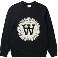 Dark Navy Hester Marble Seal Sweatshirt