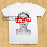 miley cyrus exclusive twerk it grey t shirt paramex