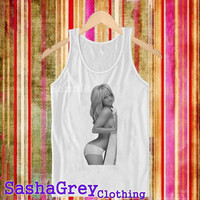 Britney Spears White _ Tank Top Men's Size S - XXL Design By : sashagreystore