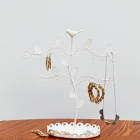 Jewellery Tree in White - Urban Outfitters