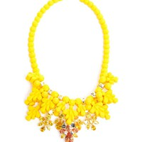 EK THONGPRASERT | Impatiens Fusion Embellished Silicone Necklace | Browns fashion & designer clothes & clothing