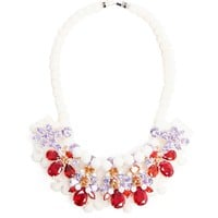 EK THONGPRASERT | Babiana Rubrocyanea Embellished Silicone Necklace | Browns fashion & designer clothes & clothing