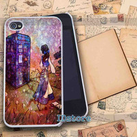 Belle Tardis _ iphone 4/4s,5/5s,5c samsung s3,s4 Case Design By : IDstore.