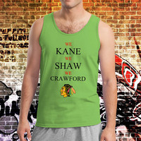 We Kane We Shaw We Crawford Chicago Hockey Shirt Tank Top Tanktop Tshirt T Shirt Men Tanktop