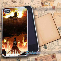 Attack on titan _ iphone 4/4s,5/5s,5c samsung s3,s4 Case Design By : IDstore.