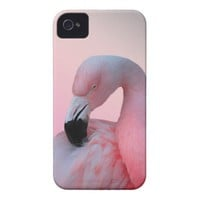 Pink Flamingo iPhone 4/4S Case