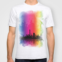 Urban Rhythm T-shirt by Texnotropio