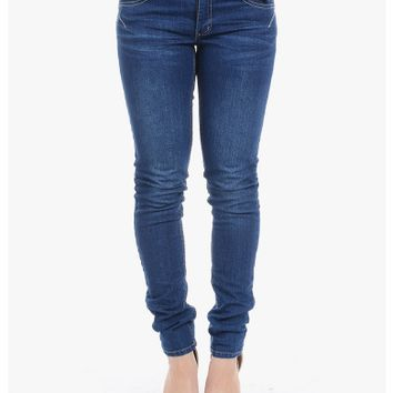 Blue Second Skin Skinny Jeans | $10.00 | Cheap Trendy Jeans Chic Discount Fashion for Women | ModDe