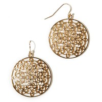 AEO CUTOUT DISC EARRING