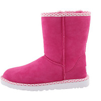 UGG Classic Short Hearts Red Hot - Zappos.com Free Shipping BOTH Ways