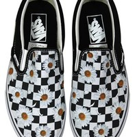 Vans Love Me Love Me Not Classic Slip-On Trainers - Buy Online at Grindstore.com
